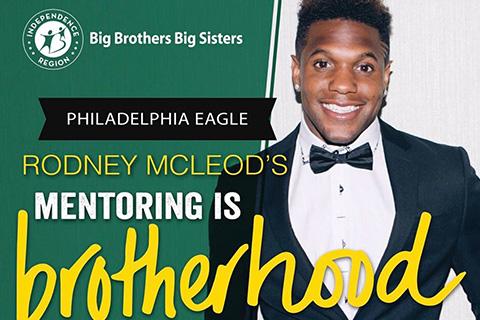Philadelphia Eagle Rodney McLeod Helps Recruit Mentors