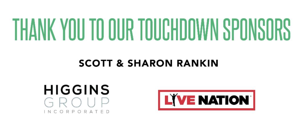 Touchdown Sponsors